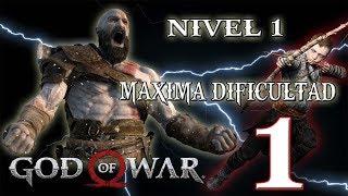 🔴 NIVEL 1- MAXIMA DIFICULTAD - GOD OF WAR - PARTE 1!!!