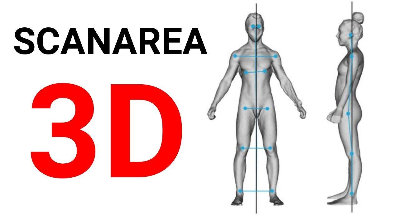 scanarea în greutate a corpului 3d lee pierdere în greutate înainte de după