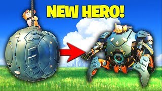 Video Muselk Plays The *NEW HERO* WRECKING BALL! [Overwatch] download MP3, 3GP, MP4, WEBM, AVI, FLV Agustus 2018