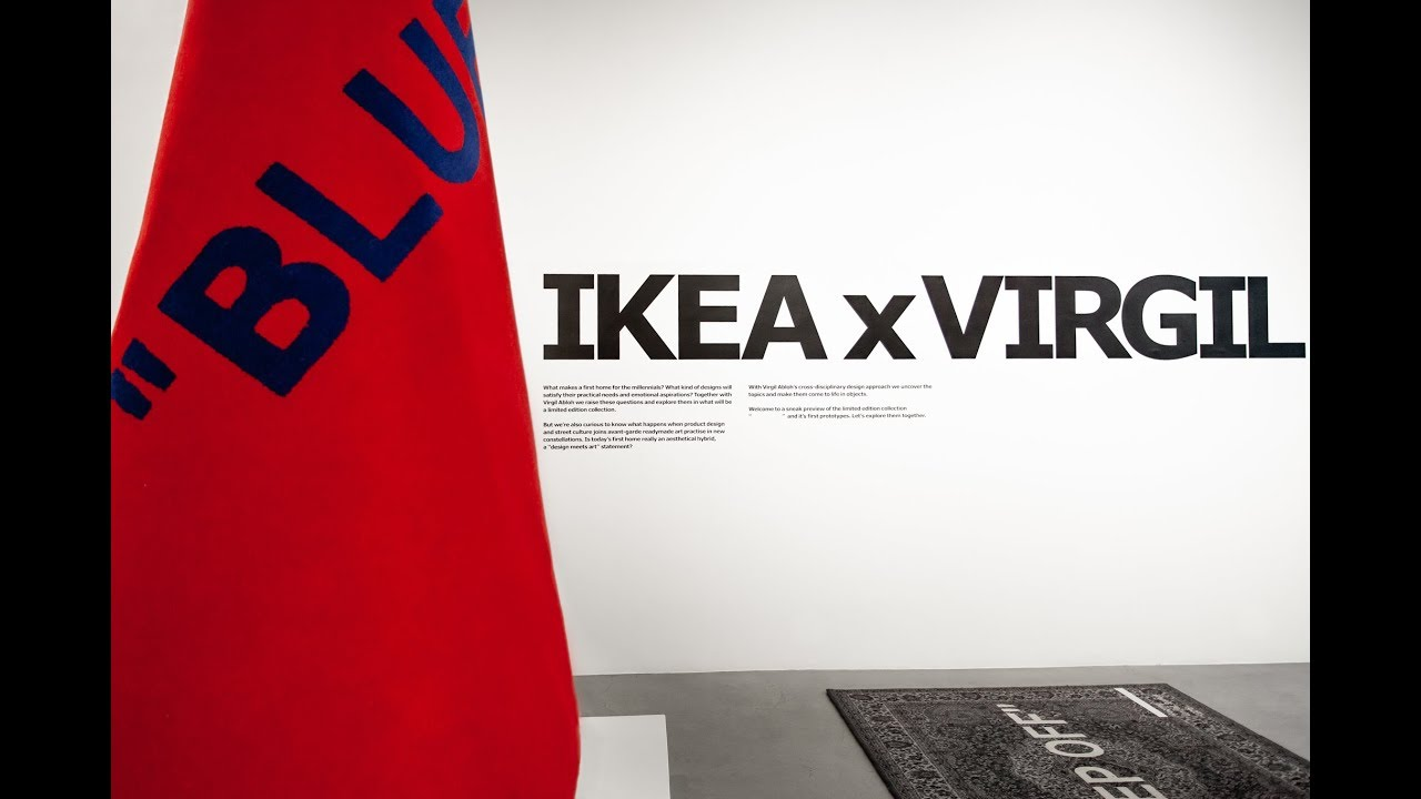 Ikea And Virgil Abloh Present Markerad Collection Youtube