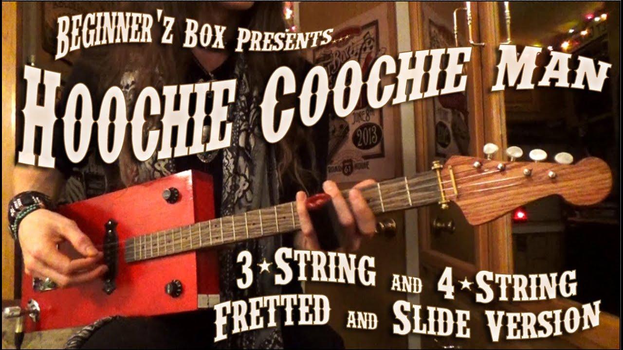 Learn hoochie coochie man guitar