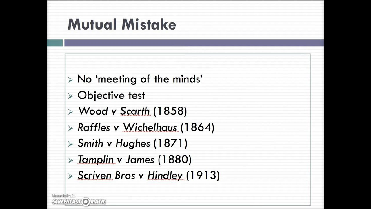 mutual mistake Translation and definition mutual mistake, dictionary english-english online the best way to do that, sir, would be to consider this incident a mutual mistake and to release commander keeter into.