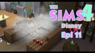 lua de mel no spa disney no the sims 4   epi 11   gameplay lalaland