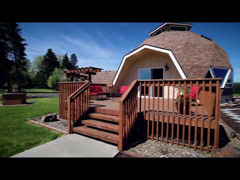 Stunning Contemporary Geodesic Home ~ Video of 884 N. Military