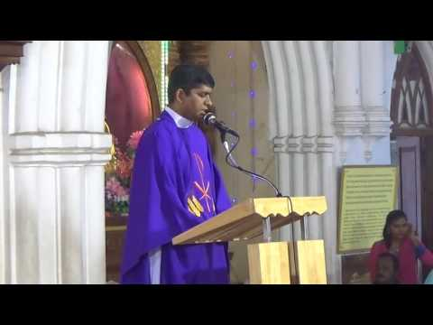 Rev Fr  M Antonyswamy Funeral Holy Mass 8-8-2017 Santhome church
