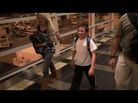 Atticus Shaffer lands in Washington DC excited for his visit