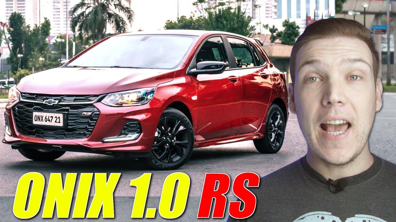 Chevrolet ONIX RS é só ADESIVO? Vai custar R$ 70 MIL?