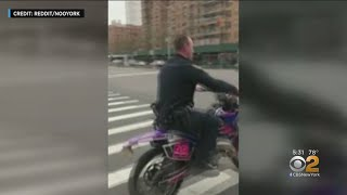 NYPD Looking Into Police Officer Who Crashed Dirt Bike In Harlem