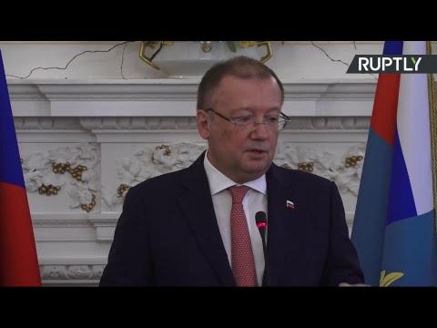 Посол России в Великобритании проводит брифинг по делу Скрипаля
