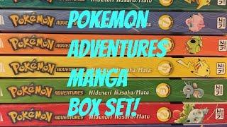 Pokemon Adventures Manga Box Set vol. #1-7