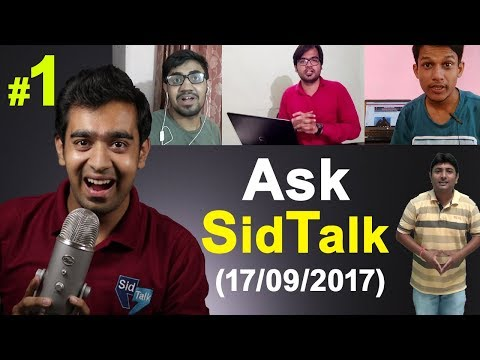 AskSidTalk #1 | How To Get Review Units | Blogger VS WordPress | Whats My Profit ?