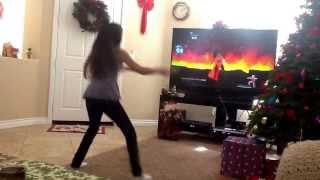 Aleena dancing