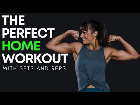 Create The PERFECT Home Workout (+2 Workouts With Sets And Reps)
