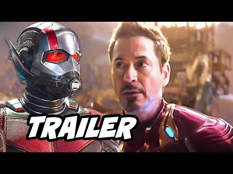 Ant-Man and The Wasp Trailer and Avengers...