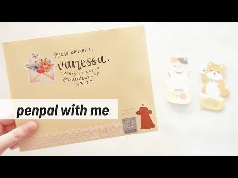 🐶 Penpal With Me Kawaii Animals Theme!  | Maiden Manila