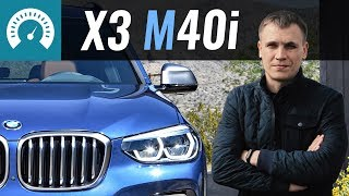 BMW X3 M40i 2018 // Infocar