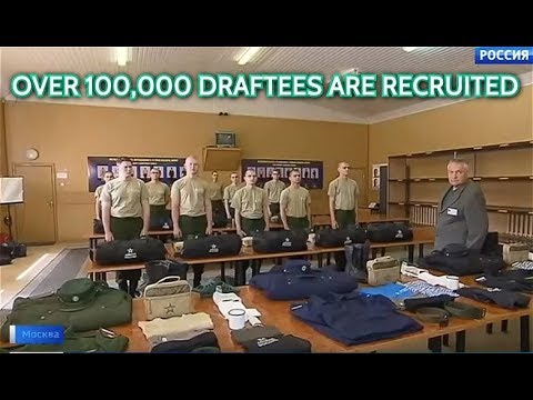 It's Draft Season In Russia! Young Recruits Are Being Selected For Prestigious Services In Army