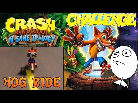 Let's Challenge Crash Bandicoot N. Sane Trilogy (Hog Ride): Platin-Relikt | 0:37:20