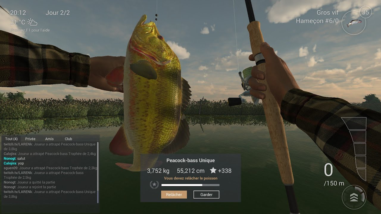 Fishing planet fish the peacock bass unique florida for Fishing planet game