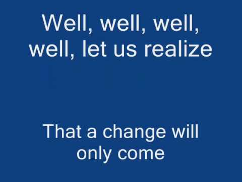 We are the World karaoke with lyrics