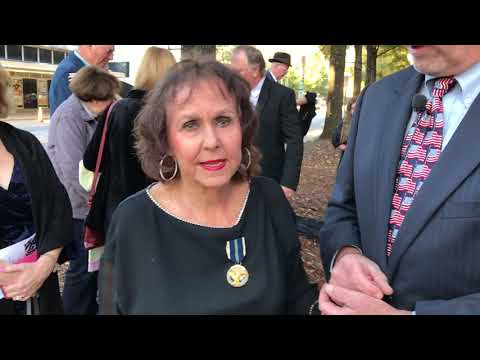 Interview with Veterans Day founder Raymond Weeks' daughter Barbara Weeks Minor