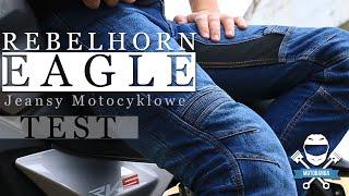 Ile wart są jeansy motocyklowe w budżetowej cenie? Rebelhorn Eagle Test (125ccm)