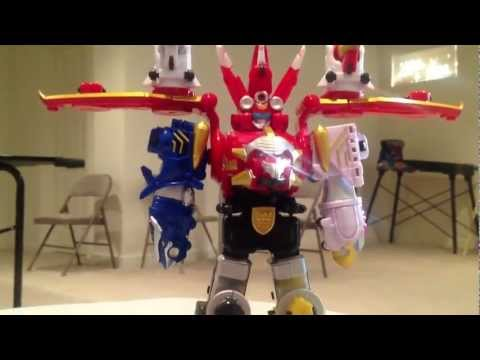 Sky Brothers Zord Vehicle Review [Power Rangers Megaforce]
