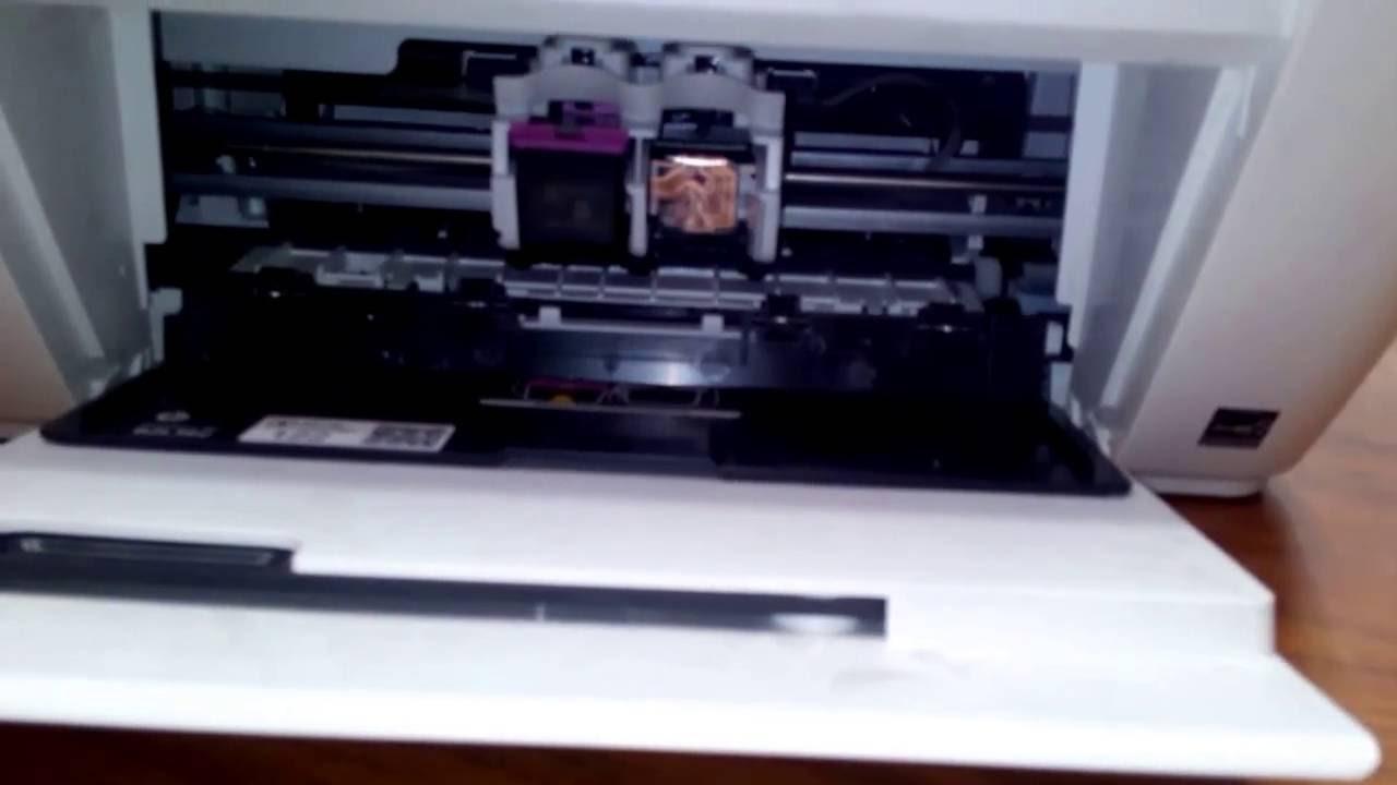 Replacing Cartridge On Hp Deskjet 1510 1515 1516 All In