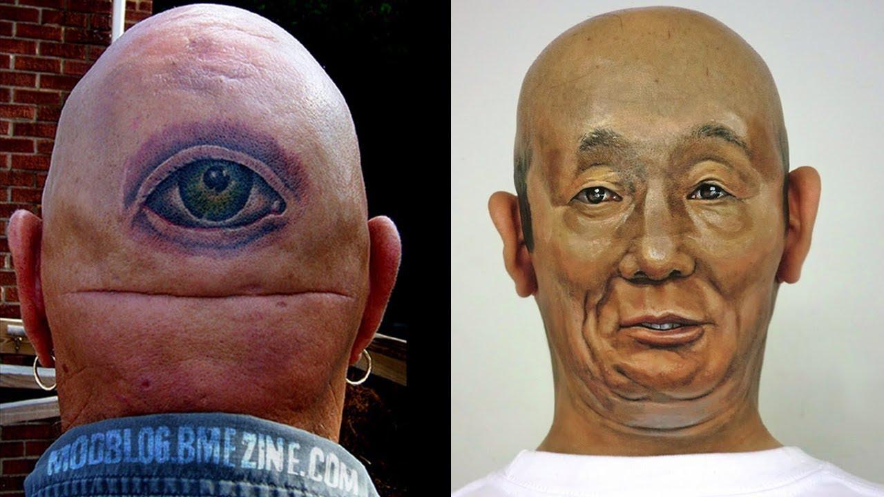 Top Best Bald Head Tattoo Ideas Funnyzilla