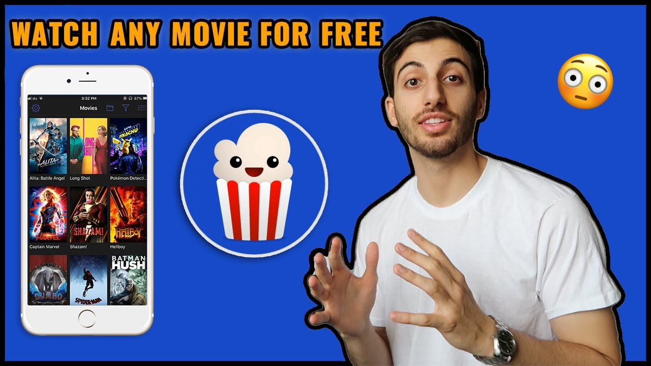 Popcorn Time Download for iOS/Android APK (47 MB)  😊  #Smartphone #Android