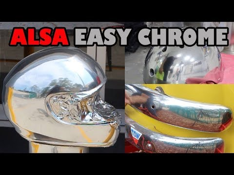 Easy Chrome Brush or Spray on Chrome