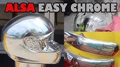 Easy Chrome Brush or Spray on Chrome