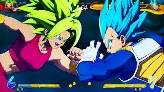 Dragon Ball FighterZ - NEW Kefla DLC Gameplay Session (Season 3)