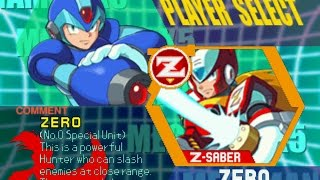 Megaman X5 Original Zero (Obliberate The Battleship, Life Up)
