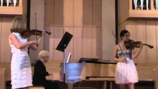 "Mendelssohn ""On Wings of Song"" Violin Duet"