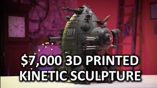 """HOLY $H!T- US$7,000 3D Printed Robot!? """"HMC Galahad"""""""