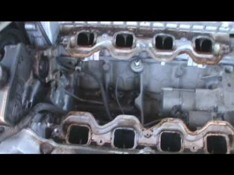 Starter removal and replacement on a Northstar engine - YouTube 4.6 northstar engine diagram YouTube