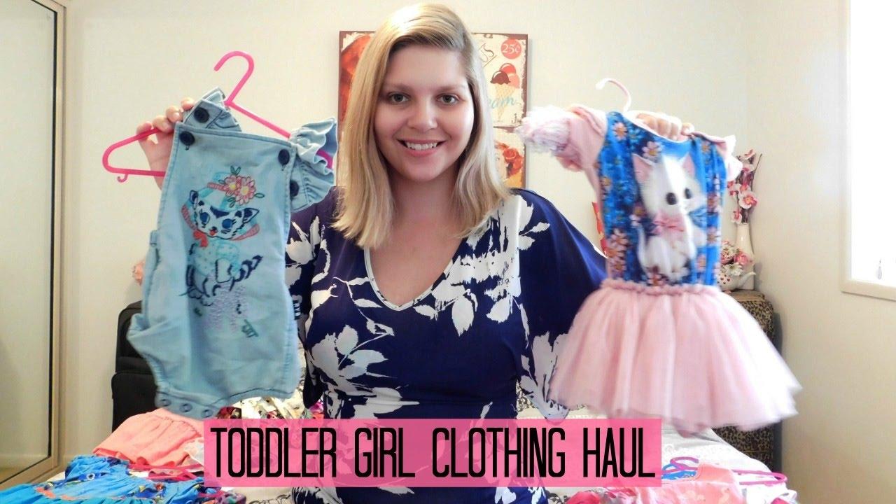 c2de35dd52f Toddler Girl Clothing Haul - YouTube
