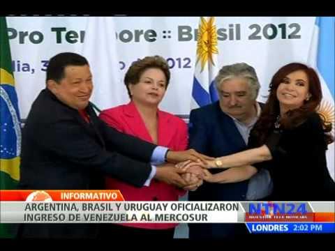 Venezuela es ya miembro pleno del grupo de Mercado Común del Sur