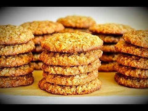 Galletitas de Avena solo (2 ingredientres)