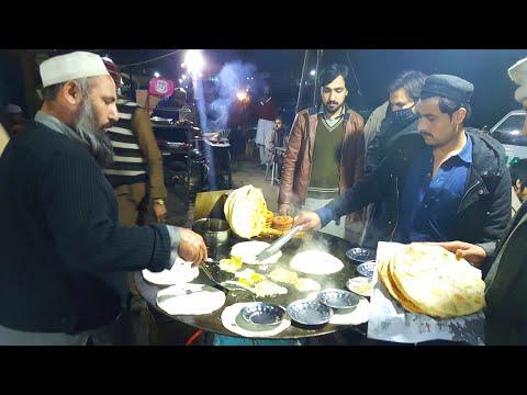 Sherpao Paratho Wala, University Town Peshawar   Peshawari Nashta   Peshawari Paratha   Egg Fried