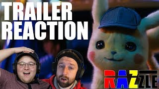POKÉMON: Detective Pikachu - Official Trailer #1 - TRAILER REACTION