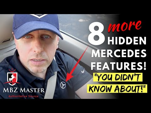 🔴 8 More Hidden Mercedes Features - You Didn't Know About 🔴-Tips & Tricks!