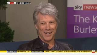Jon Bon Jovi on Sky News - Full Interview