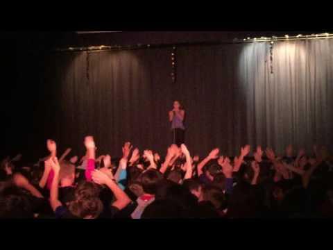 Jordyn 6 grade talent show Prairie Star Middle School