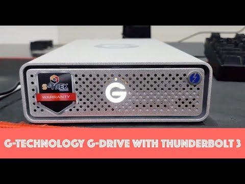 แกะกล่องรีวิว   G-Technology G-DRIVE with Thunderbolt 3