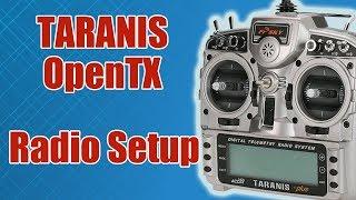 видео: TARANIS / Системное меню / Radio Setup / ALNADO