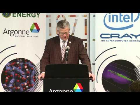 Press Conference: DOE announces next-gen supercomputer Aurora to be built at Argonne