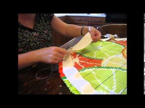 Circular Rug Binding Tutorial You