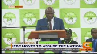 IEBC moves to assure the country
